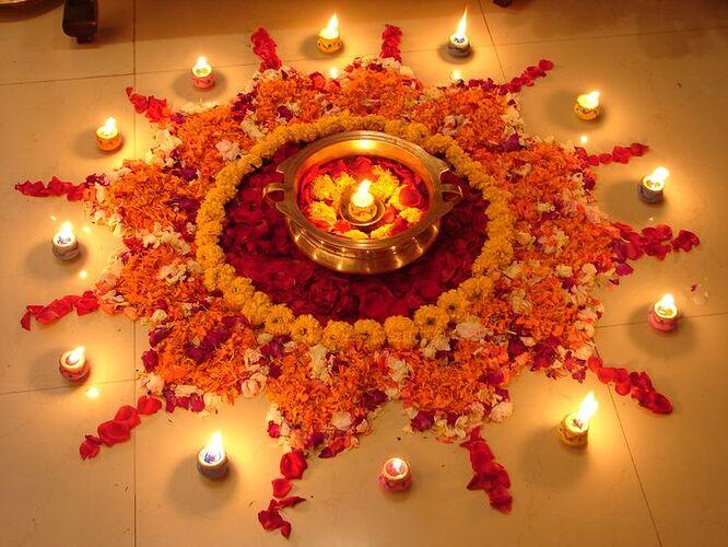 diwali-rangoli-with-real-flowers (beautyandhealthtips)