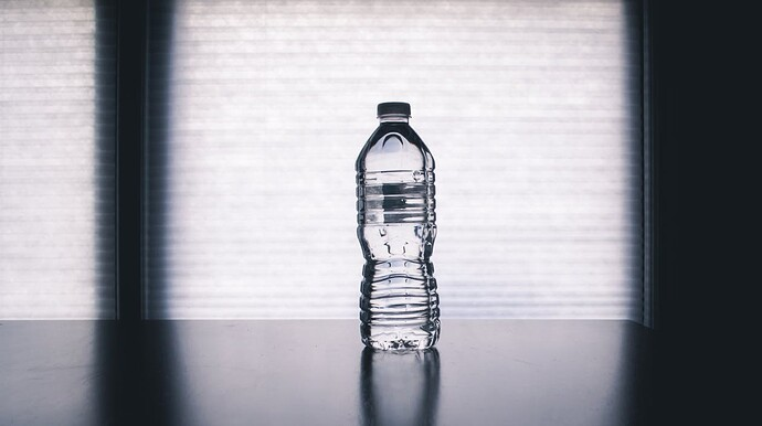 A bottle full of water