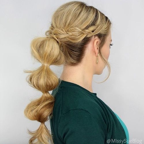 7-bubble-pony-for-long-hair