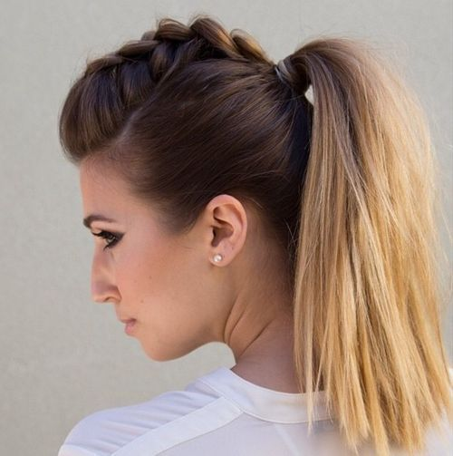11-braided-Mohawk-and-pony-hairstyle