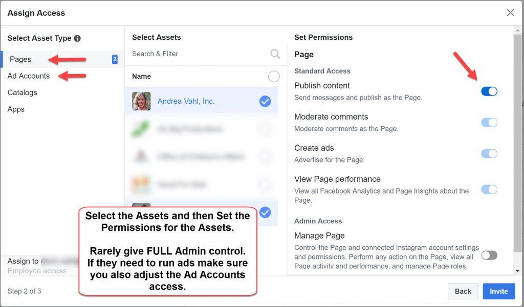 Facebook Admin Business Manager