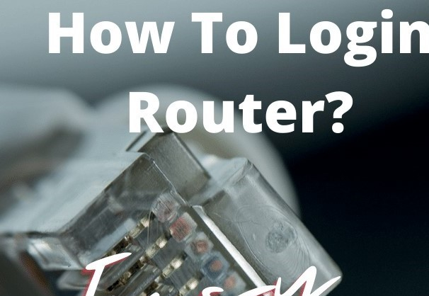 How To Login Router_