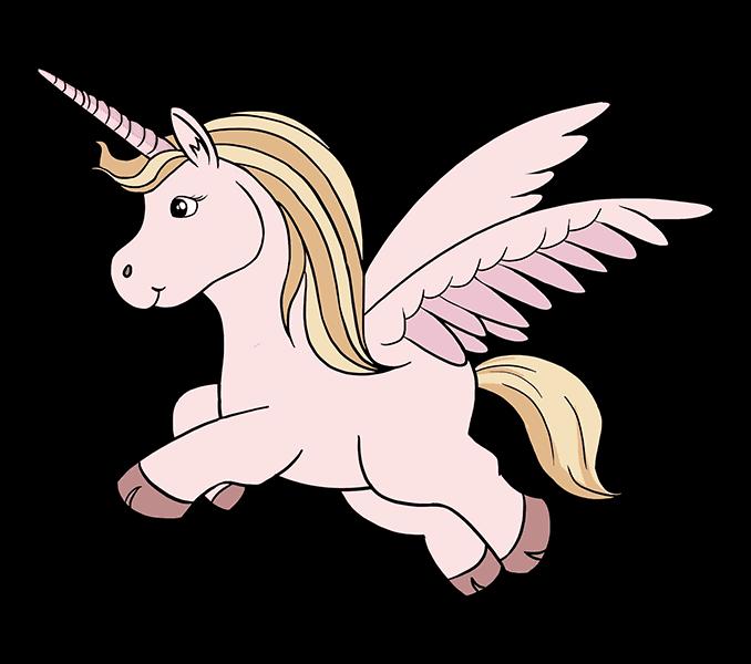 How to Draw Unicorn: Step 20