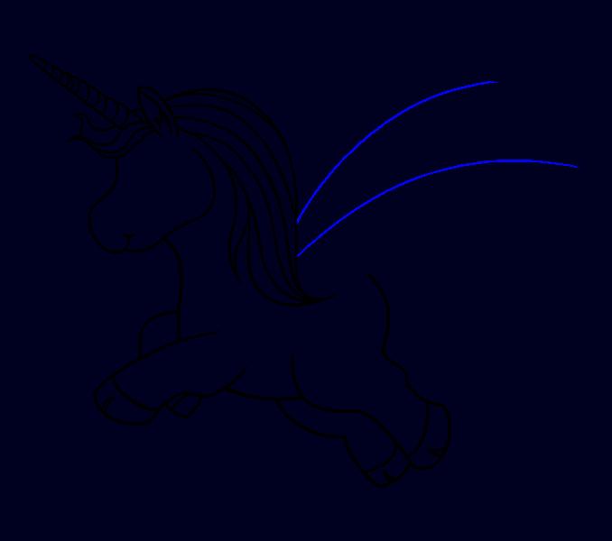How to Draw Unicorn: Step 14