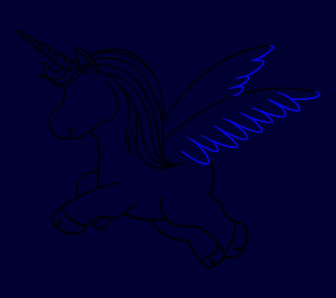 How to Draw Unicorn: Step 15