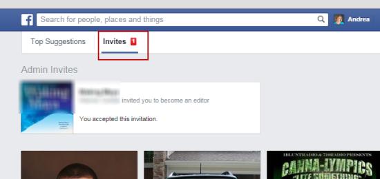 Pending invites