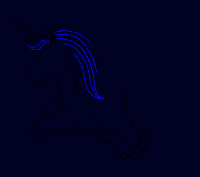 How to Draw Unicorn: Step 13